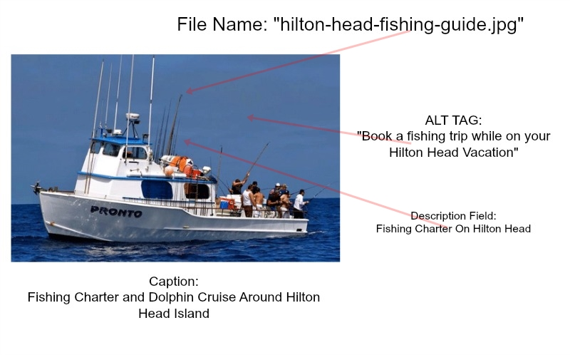 Website Design For Fishing Charters